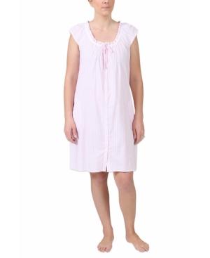 Miss Elaine Women's Striped Nightgown