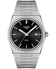 Men's Swiss PRX Stainless Steel Bracelet Watch 40mm