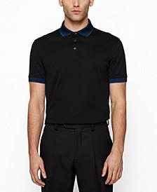 BOSS Men's Embroidered-Logo Polo Shirt