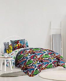 Avengers Reversible Comforter Sets