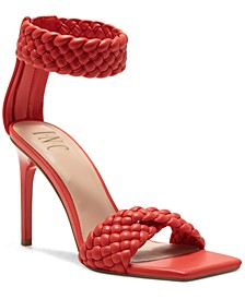 INC Adalie Woven Dress Sandals, Created for Macy's