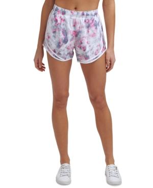 Calvin Klein Performance Printed Shorts In Enlighten Candy
