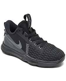 Little Boys Lebron Witness 5 Basketball Sneakers from Finish Line