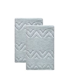 Turkish Cotton Sovrano Collection Luxury Bath Towels, Set of 2