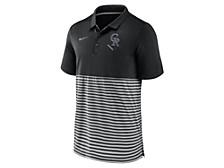 Men's Colorado Rockies Icon Stripe Polo