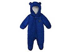 Infant St. Louis Blues Fleece Hooded Footie Coverall