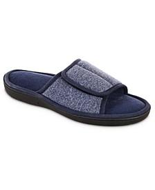Isotoner Men's Knit Ethan Slide Slippers