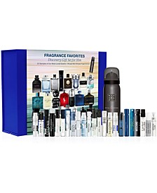 23-Pc. Fragrance Favorites Discovery Sampler Gift Set For Him, Created for Macy's