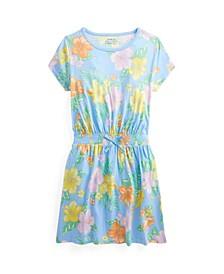 Big Girls Floral Jersey T-shirt Dress