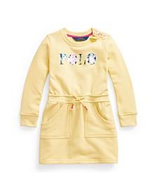 Toddler Girls Floral-Logo Fleece Dress