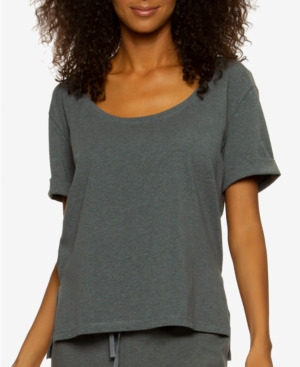 Organic Cotton Scoop Neck Loungewear T-Shirt