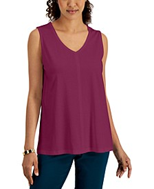 Cotton V-Neck Tunic, Created for Macy's
