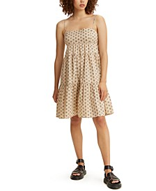 Clea Cotton Tiered Dress