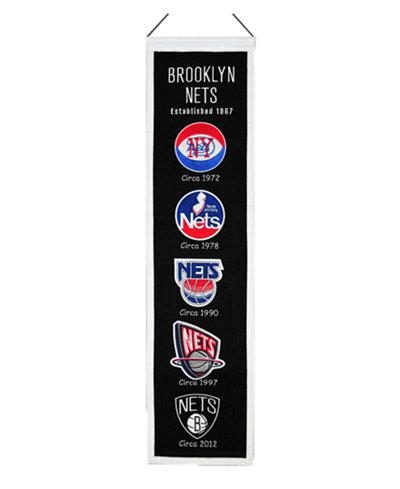 Winning Streak Brooklyn Nets Heritage Banner