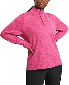 Element Plus Size Women's Half-Zip Running Top
