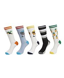 Men's Athletic Socks, Pack of 5