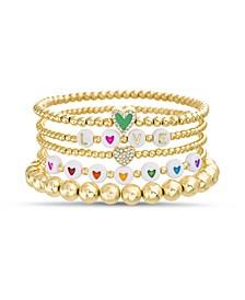 5-Piece Stretch Bracelet Set