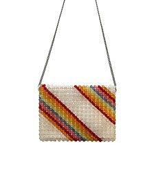 Dashiell Rainbow Beaded Crossbody
