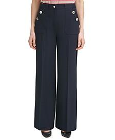 Bootcut Sailor Pants