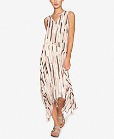 Handkerchief-Hem Maxi Dress