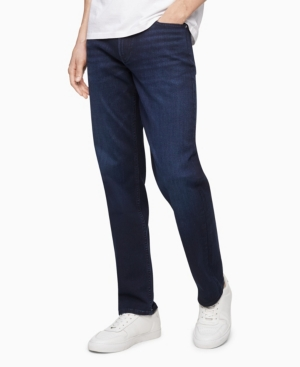 Calvin Klein Straight jeans MEN'S STRAIGHT FIT HIGH STRETCH JEANS