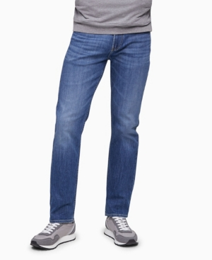 Calvin Klein Jeans MEN'S STRAIGHT FIT HIGH STRETCH JEANS