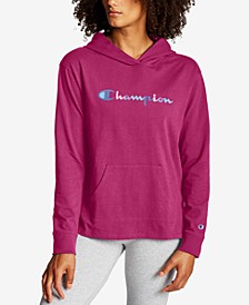 Women's Color Logo Middleweight Hoodie