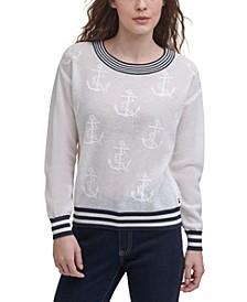 Anchor Jacquard Sweater