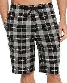 Men's Plaid Pajama Shorts