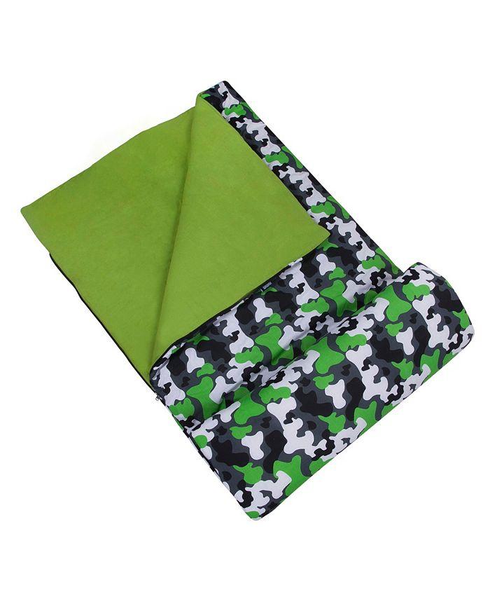 Wildkin - Green Camo Sleeping Bag