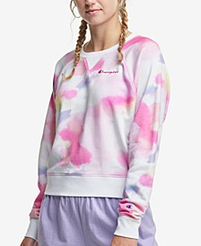 Women's Campus Tie-Dyed French Terry Sweatshirt