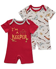 Baby Boys 2-Pk. Harry Potter Rompers