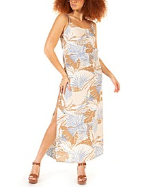 Petite Printed Maxi Dress