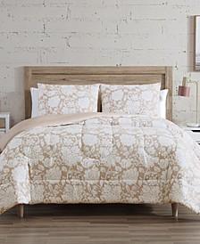 Orena 3-Pc. Reversible Full/Queen Comforter Set