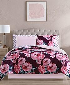 Fiosa 8-Pc. Reversible Queen Comforter Set