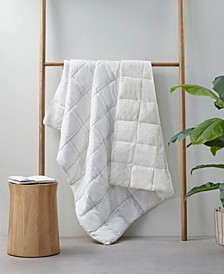 """Antimicrobial Filled 50"""" X 60"""" Throw"""