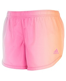 Big Girls Pink Ombre Woven Shorts