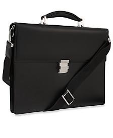 Montblanc Meisterstück Black European Leather Briefcase