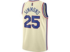Philadelphia 76ers Men's Earned Swingman Jersey - Ben Simmons