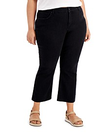 Petite Flare-Leg Jeans, Created for Macy's