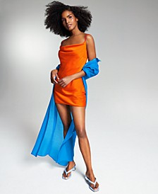 Zerina Akers Solid Slip Dress, Created for Macy's
