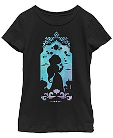 Big Girls Disney Princesses Jasmine's Palace Short Sleeve T-shirt