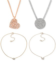 Crystal Pendant Necklace Jewelry Separates