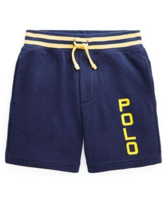 폴로 랄프로렌 Polo Ralph Lauren Little Boys Logo Spa Terry Shorts,Newport Navy