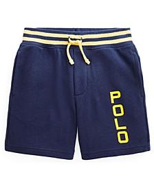 Little Boys Logo Spa Terry Shorts