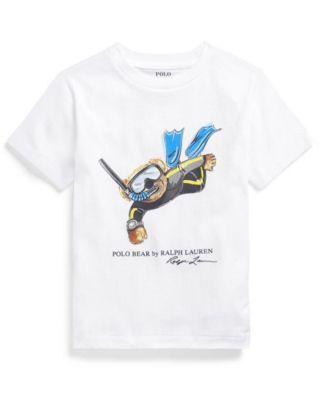 폴로 랄프로렌 Polo Ralph Lauren Little Boys Polo Bear Jersey T-shirt