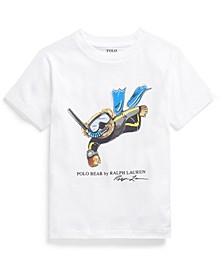 Little Boys Polo Bear Jersey T-shirt