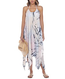 Tie-Dye Maxi Cover-Up Dress