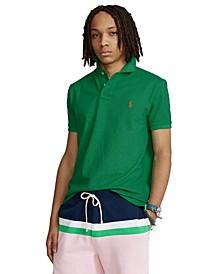 Men's Custom Slim Fit  Mesh Polo