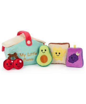 Gund Baby 5-Pc. My Little Picnic Stuffed Plush Playset